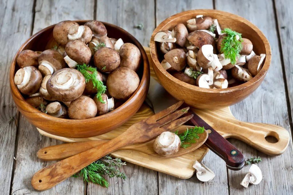 Самые аппетитные – грибочки, законсервированные целиком