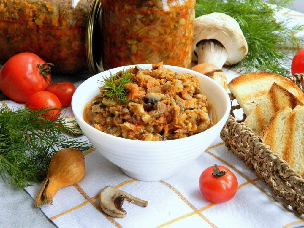 Рецепт с кабачками и томатной пастой