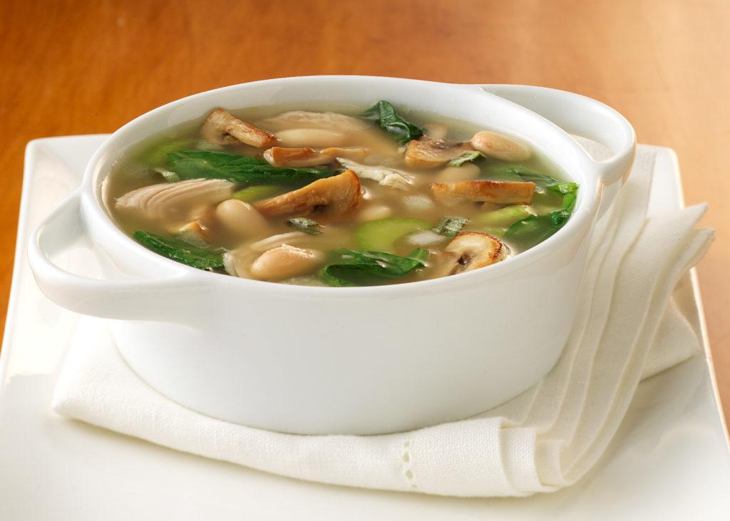 Пошаговый рецепт супа из шампиньонов в кастрюле