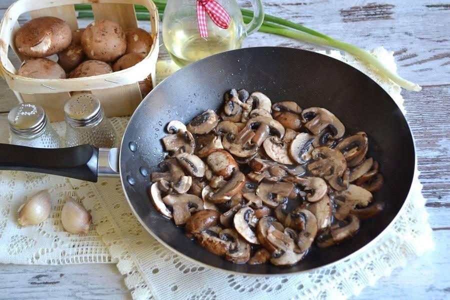 Особенности заготовки жареных грибов на зиму