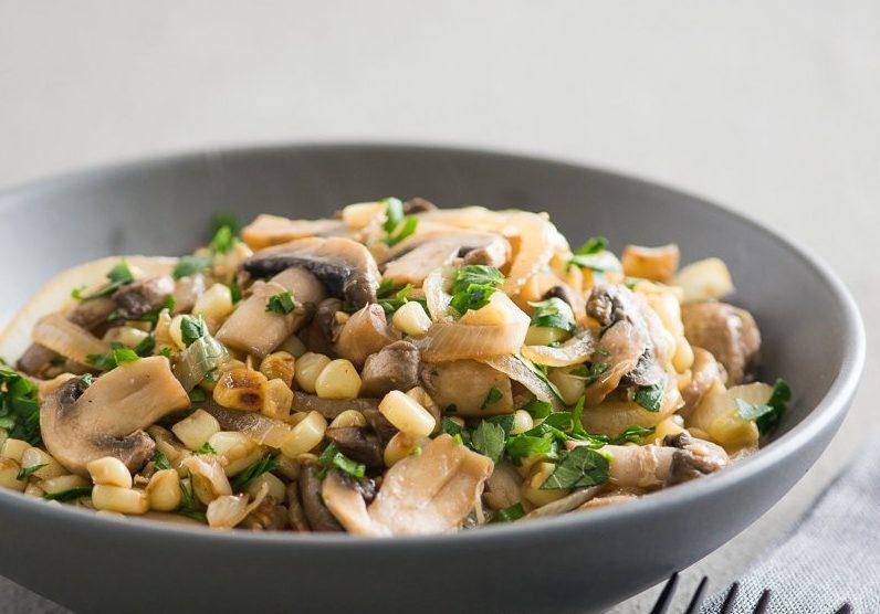 грибной салат из шампиньонов быстро и вкусно своими руками