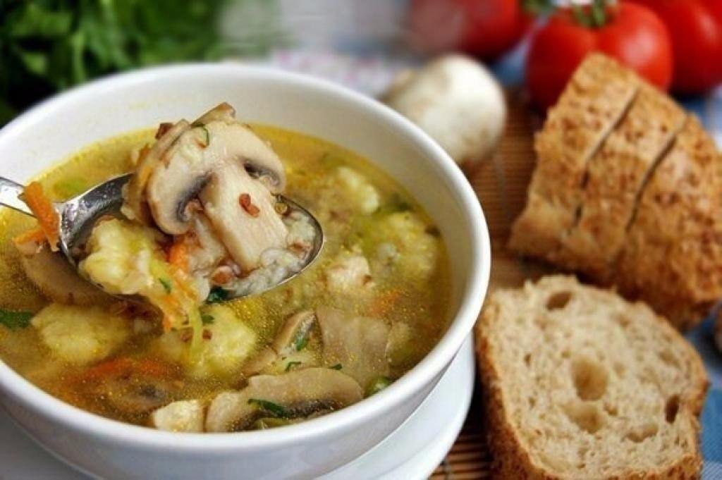 Как приготовить грибной суп из замороженных шампиньонов